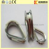 Cosse galvanisée par électro de câble métallique d'acier du carbone de cosse de câble métallique des BS 464