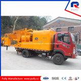 Pully Manufacture Pompe à béton montée sur camion avec mélangeur (JBC40-L1)