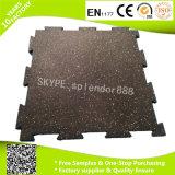 15 mm de goma durable suelos baldosas en el gimnasio Uso