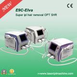 Máquina intensa E9c del retiro del pelo de Shr Elight de la luz del pulso