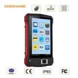 険しい人間の特徴をもつタブレットのパソコン、携帯用指紋のスキャンナー、13.56MHz/915MHz RFIDの読取装置
