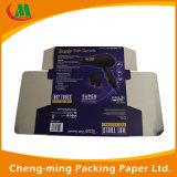 Cadre de papier ondulé blanc estampé par publipostage bon marché de cartons d'expédition de coutume