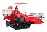 4lz-1.0 Cheap Mini Rice & Wheat Combine Harvester (larghezza di taglio 1360mm)