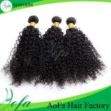 Extensão de 2015 cabelos humanos novos de Yaki do Virgin/cabelo humano