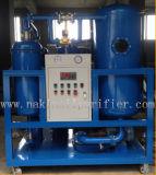 Dispositif en ligne de purification d'huile de turbine de vide de Ty de série