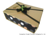 Foldable Christmas Paper Gift Box 또는 Rigid Cardboard Box (YL-HL302)
