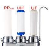 3直接Dirnking水解決が付いている段階のカウンタートップ304のステンレス鋼水清浄器