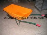 Carriola calda di colore di colore giallo di buona qualità di vendita (Wb6401)