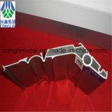 Profils en aluminium d'extrusion de chemin de fer