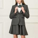 卸し売り流行の女の子の学生服のブレザーおよびプリーツのスカート