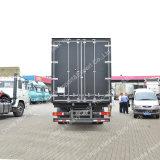 Тележка груза Китая Sinotruk HOWO 4X2 10ton светлого Van