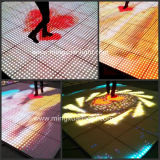 Qualité LED Dance Floor interactif visuel (YS-1506)