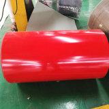 Dx51dカラーは熱い浸された電流を通された鋼鉄コイルに塗った
