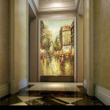 Картины маслом холстины искусствоа улицы Париж сразу оптовой картины фабрики Impressionist