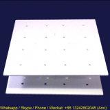 Présentoir acrylique carré de bruit de gâteau de lucette