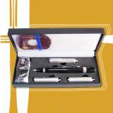 Stylo en métal du laser LED d'USB 4 In1 avec la boîte de cadeau