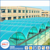 Revêtement anti-chute en plein air Plaque en polycarbonate pour abri de toit en toit