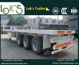 40feet планшетный трейлер 3axles (длинние корабли)