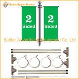 Metal Farola Pole Bracket Publicidad Banner (BS-BS-023)