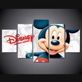 HDは漫画のミッキーマウスの絵画壁のバックラムの版画室の装飾プリントポスター映像のキャンバスMc116を印刷した