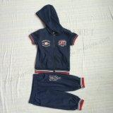 스퀘어 6237 두건을%s 가진 아이 옷에 있는 대중적인 소년 스포츠 한 벌 착용