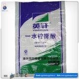 Рециркулированный мешок пластмассы сплетенный PP для удобрения