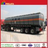 De grote Aanhangwagen van de Tanker van het Asfalt van het Volume voor het Verwarmen van Vervoer van het Bitumen