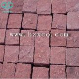 Natürlicher schwarzer Basalt/Porphyr/Schiefer/gestolperte/Sandstein-/Granit-Steinplasterungs-Würfel/Vorhang-/Straßenbetoniermaschine-Stein/Pflasterung-Stein