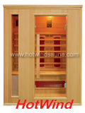 Weites Infrarot-Sauna-Raum-trockene hölzerne Sauna (SEK-AP3)