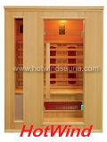 Sauna en bois sec de pièce de sauna d'infrarouge lointain (SEK-AP3)