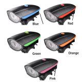 2017 Fahrrad-helle Fahrrad-Lampe USB-nachladbarer Fahrrad-Scheinwerfer