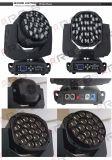 고성능 19X15W Hawkeye 실내 단계 LED 이동하는 맨 위 빛