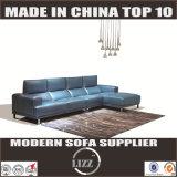 Lazer moderno L sofá Lz8816 do couro da forma