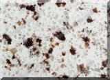 Preço de pedra artificial das bancadas de quartzo da decoração colorida