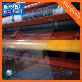 Hoja de alta calidad de PVC claro, buen funcionamiento transparente de PVC lámina rígida de la caja plegable