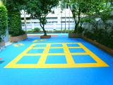 But multi enclenchant le plancher suspendu modulaire de sport pour d'intérieur et extérieur
