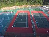 Scossa Reduction Water Proof Tennis Court Surface Tile per Kids e Seniors