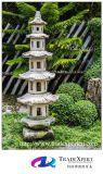 Фонарик гранита античный каменный, Pagoda сада для напольного