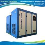 산업 작업환경 사용을%s 110kw 나사 공기 압축기