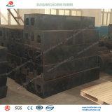 Pára-choques quadrados da alta qualidade e do desempenho no porto marítimo