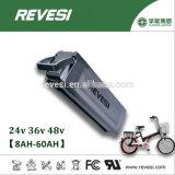 Het zilveren Pak van de Batterij van Vissen 48V 10ah Li-Ionen voor e-Fiets het Geval van het Aluminium