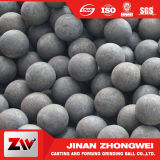 billes en acier de meulage modifiées par laminage à chaud de 20-150mm pour le broyeur à boulets