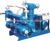 Compresseur à gaz industriel à haute pression explosif à pétrole liquéfié (KZW0.6 / 8-12)