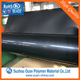 Pellicola rigida del PVC del nero dello strato del PVC di alta lucentezza per Thermoforming