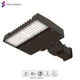 UL Dlc IP65はLEDの街灯の駐車場の照明、LEDの靴箱ライトを防水する