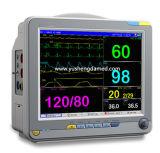 Alta calidad monitor paciente portable médico del multiparámetro de 12 pulgadas