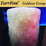 Rosen-Form-flammenloses Kerze-Licht für Dekoration