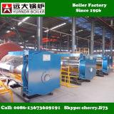 Wns 0.5-6 тонны газа/масла/тепловозного ого боилера пара для фабрики одежды