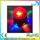 Effekt der Stab-Disco-LED beleuchtet LED-helle magische spinnende Kugel