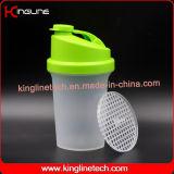 500ml BPA liberano la bottiglia di plastica dell'agitatore della proteina con il filtro (KL-7012B)